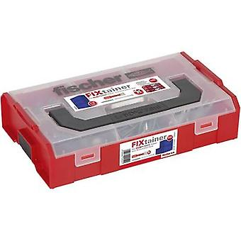 Fischer 535969 DUOPOWER FIXtainer plugs with screws Content 210 Parts