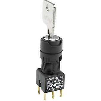 APEM A018223 Key switch 1 x 90 ° 1 pc(s)