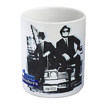 Lo hermanos de los azul blanco Copa - películas clásicas-, impresos, cerámica, capacidad aprox. 320 ml., viene en caja de regalo.