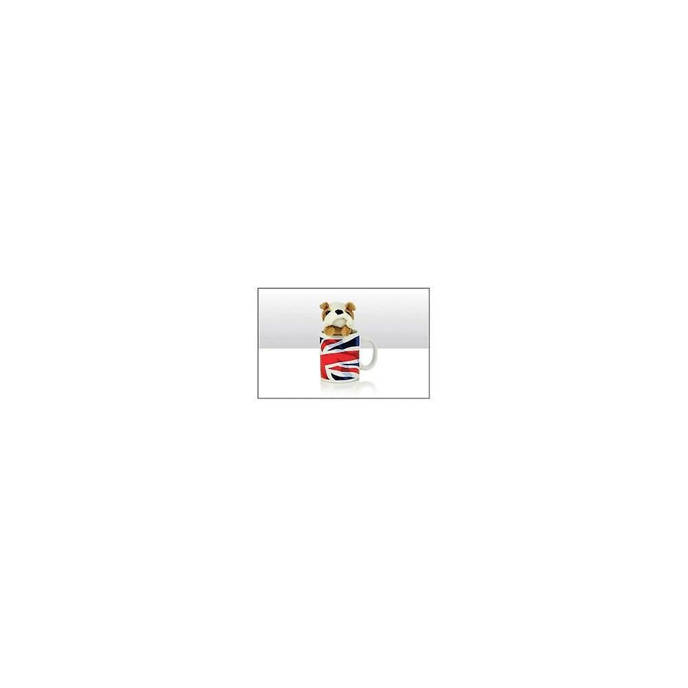 Union Jack Wear Union Jack Mug With Bulldog Soft Toy