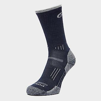 New Point6 Men's Hike Light Socks Navy