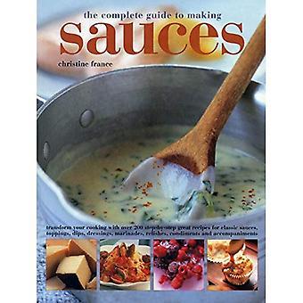 Le Guide complet pour faire des Sauces
