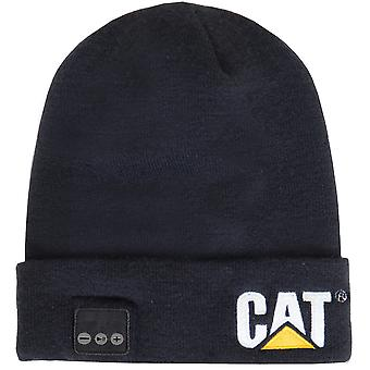 Caterpillar Mens Bluetooth Knitted Embroidered Beanie Hat