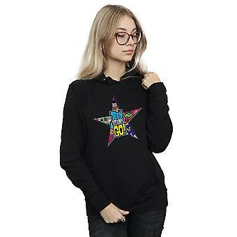 DC Comics naisten Teen Titans mennä Star Logo-huppari