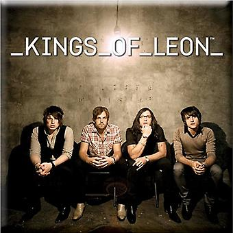 Kings of Leon Fridge Magnet Band Photo new Official 76mm x 76mm