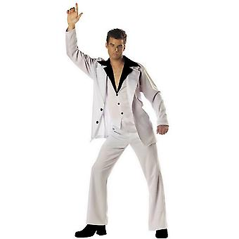 Disco Dude Saturday Night Grease 70s 80s Men Costume