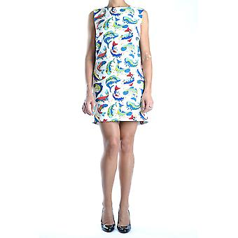 Kenzo Ezbc013011 Women's Multicolor Cotton Dress