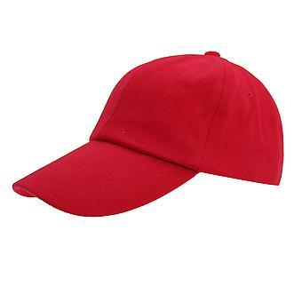 Resultaat kinderen/Kids gewoon laag profiel zware geborsteld katoen Baseballcap (Pack van 2)