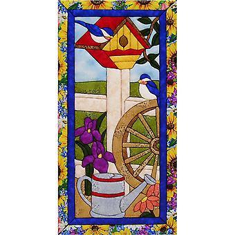 Quilt-Magic No Sew Wall Hanging Kit-Garden