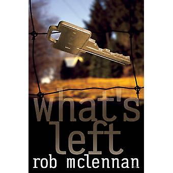What's Left by Rob Mclennan - 9780889224988 Book