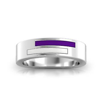 New York University ring i sterling sølv design af BIXLER