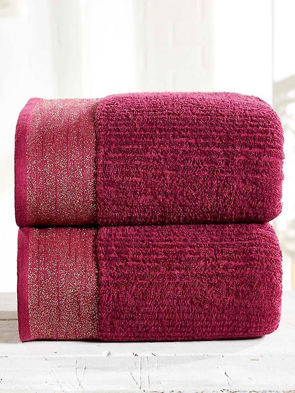 Mayfair 2 Piece Towel Bale Damson