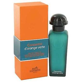 Eau D'orange Verte par Hermes Eau De Toilette Spray Concentré Refillable (unisexe) 1,6 Oz (femmes) V728-482570