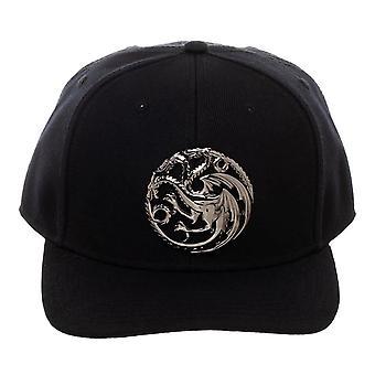 Game of Thrones Targaryen Sigil Snapback Cap-One Size