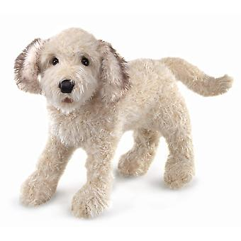 Hand Puppet - Folkmanis - Labradoodle New Toys Soft Doll Plush 3136
