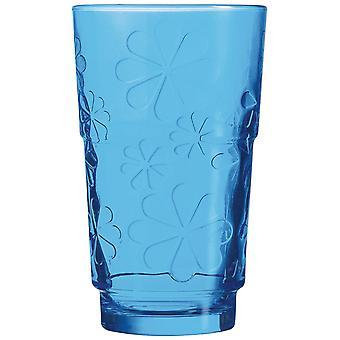 Luminarc 27 drôle verre fleurs colorées (cuisine, ménage, tasses et verres)