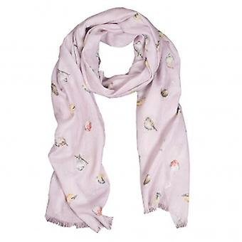 Wrendale Designs Garden Birds Scarf