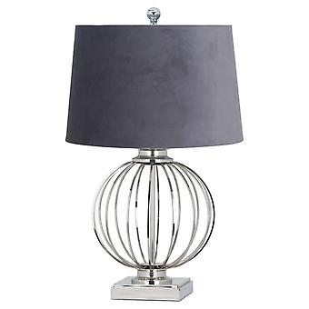 Hill Interiors Clementine Chrome Table Lamp