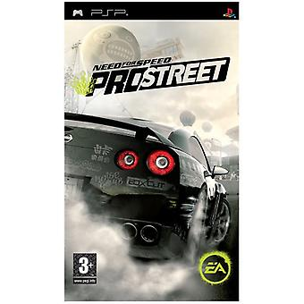 Need for Speed ProStreet (PSP)-in de fabriek verzegeld