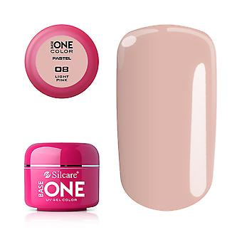 Base one-Pastel-Light pink 5g UV gel