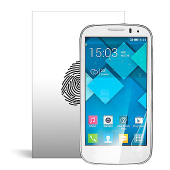 Celicious Vivid plus milde Anti-Glare Screen Protector film compatibel met Alcatel OneTouch POP C5 [Pack van 2]