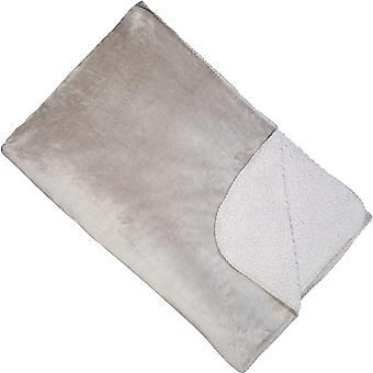 Malini Cosy Throw, Silver 150 x 200cm