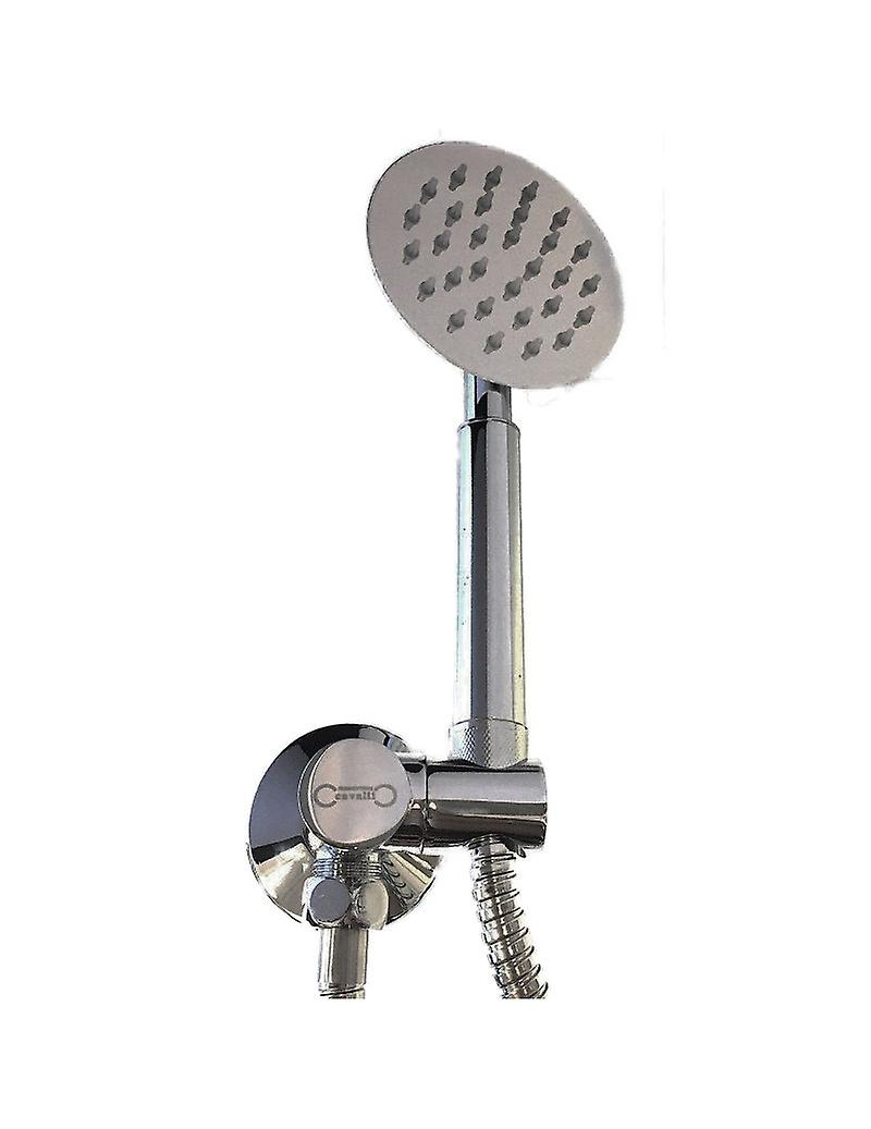 Full Shower Kit with Shower Head, Shower and Water Catch Support