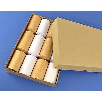 Basic reciclado Kraft caixa A4 & tampa para biscoitos caseiros | Caixas de presente do cartão
