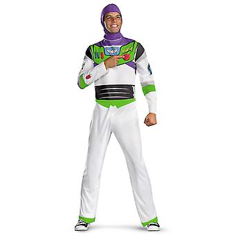 Buzz Lightyear Disney Toy Story Spaceman Space Ranger Mens Costume Plus 2XL