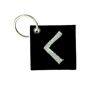 Cle Cles Key Brode Patch Ecusson Flag Vinland Odin Viking Torch