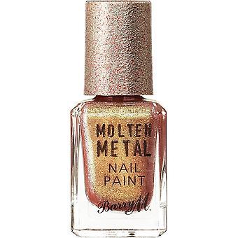 Barry M gesmolten metalen nagellak collectie-gouden uur (MTNP20) 10ml