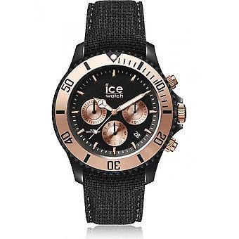 Zegarek ice zegarek Unisex ICE miejskich PA Czarny róża-złoto duży CH 016307