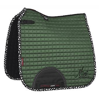 LeMieux Lemieux Prosport mini dressuur Suede Square-Hunter Green
