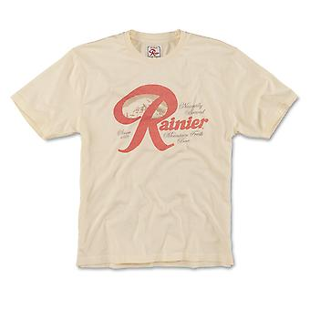 Rainier Beer Faded logo T-paita