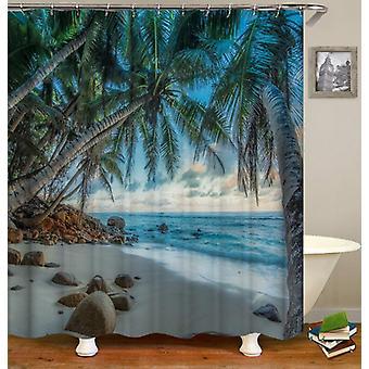 Tropical Heaven Shower Curtain