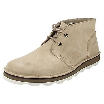 Men's Clarks Lace Up Ankle Boots Darble Mid
