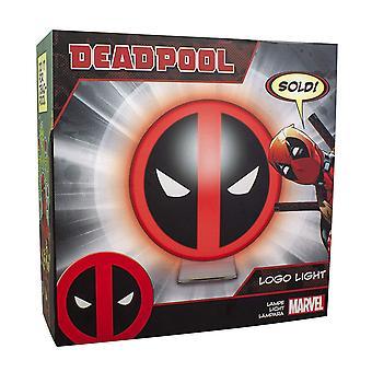 Paladone Prodotti Marvel Deadpool Logo Lampada Gaming Merchandise