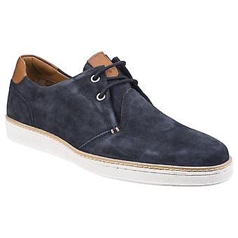 Gabicci Mens Curtis Bellows Tongue Derby Lace Shoe Navy