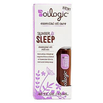 Oilogic slumber & sleep essential oil roll-on, 0.45 oz