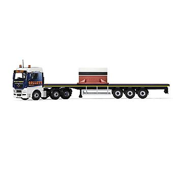 MAN TGX Flatbed & Load Diecast Model Lorry