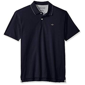 Dockers Men's Short Sleeve Performance Polo, Pembroke,, Pembroke, Size XX-Large