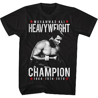 American Classics Muhammad Ali Heavyweight Champion T-Shirt - Black