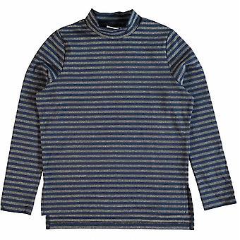 Namn det blå flickor T-shirt Nitjimali namn-det