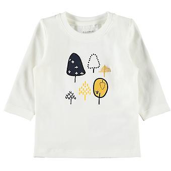 Name-It Jongens Newborn T-Shirt Natan Snow White