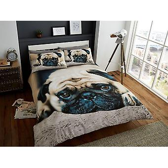 Sweet Pug Duvet Cover Bedding Set