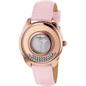 Naf Naf N10392G-801 - Watch analog steel Rose wife