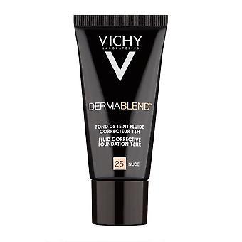 Vichy Dermablend Fluid Corrective Foundation 30ml-25 Nude