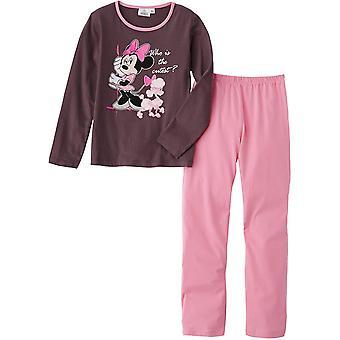 Girls Disney Minnie Mouse Long Sleeve Pyjamas HM2036