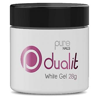 Halo Gel Nails LED/UV Gel Polish Dual It - White Gel 28g (N25480)