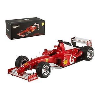 Ferrari F2002 Michael Schumacher France GP 2002 Elite Edition 1/43 Diecast Model Car by Hotwheels